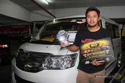 Juara 2 MBtech Awards 2017 Solo - Daihatsu Luxio