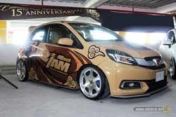 Juara 2 MBtech Awards 2017 Makassar - Honda Brio