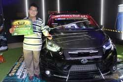 Juara 3 MBtech Awards 2017 Padang - Daihatsu Sirion