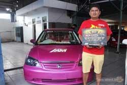 Juara 2 MBtech Awards 2017 Padang - Honda Civic