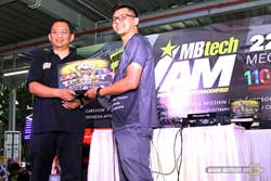 Juara 1 MBtech Awards 2017 Batam - Toyota Agya