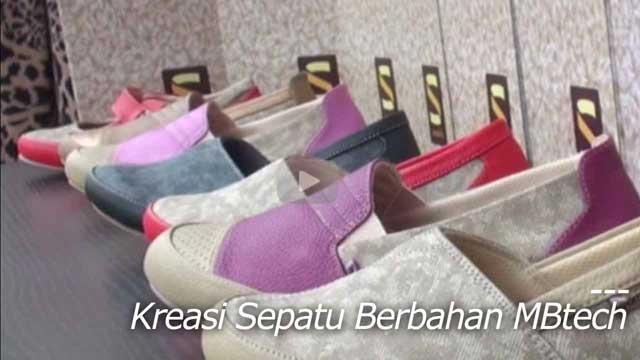 Kreasi Sepatu Berbahan MBtech