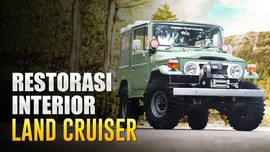 Restorasi Interior Toyota Land Cruiser