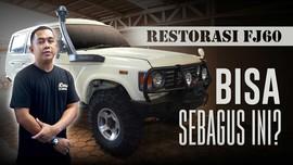 Restorasi Land Cruiser FJ60 4WD by Cabin Car Leather Seat