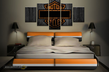 American V-Twin Bed