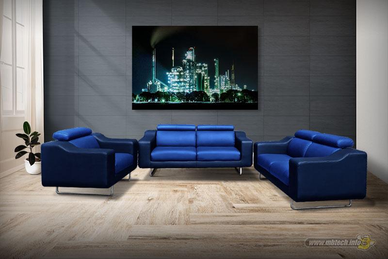 impressive-blue-sofa